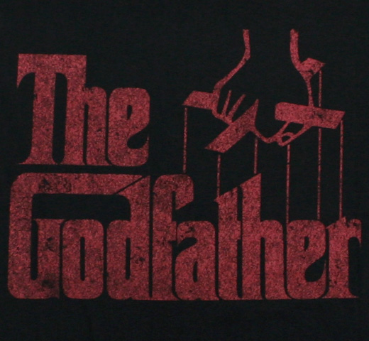 Mario Puzo / The Godfather Tee 2 (Black)